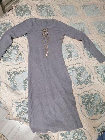 Тёплая туника, платье