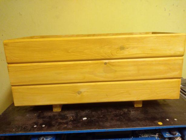Donice drewniane, skrzynki