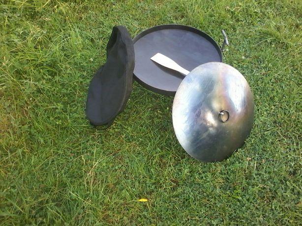Сковорода 40см+кришка+ чохол.сковородка из диска борон.мангал.жаровня