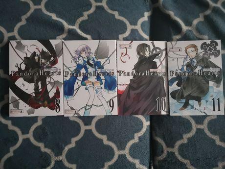 Pandora Hearts Tom 8 9 10 11 Manga Komiks