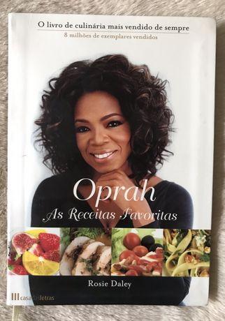 """Livro """"Oprah- As receitas favoritas"""""""