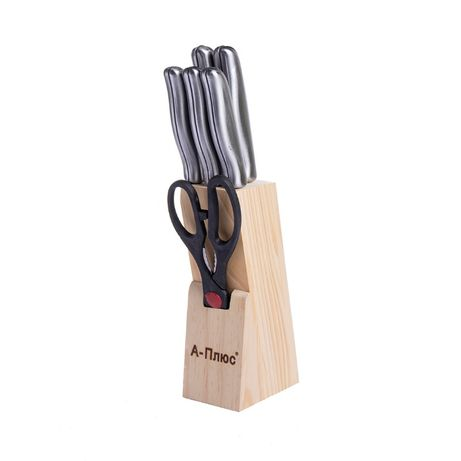 Набор Ножей А-Плюс 7 предметов металл