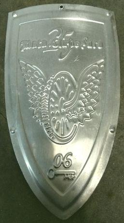 Escudo Brasão Aluminio Moto Clube Faro 25 Anos