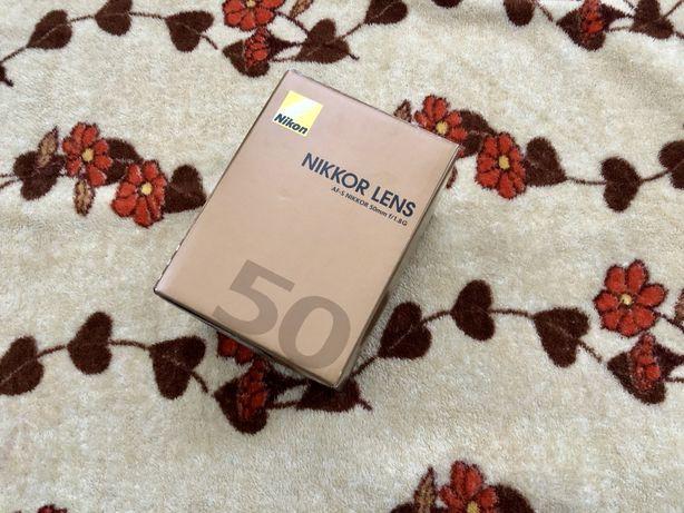 Nikon 50mm f1.8G НОВЫЙ