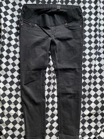 Spodnie jeansy ciążowe h&m 44 stan idealny