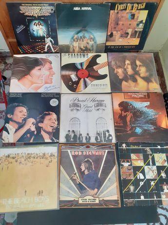 Discos de vinil lp, single cds