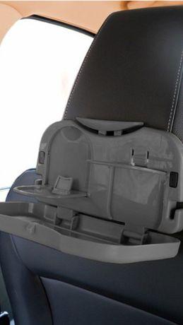 Stolik samochodowy na zagłówek czarny/ szary/ beżowy Wysyłka uchwyt