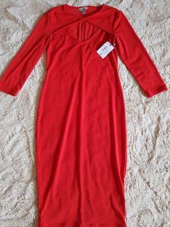 Sukienka czerwona rozmiar XS