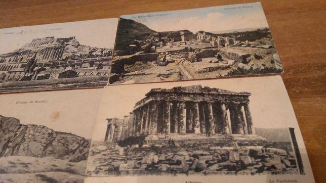 Открытки старые с видами Греции