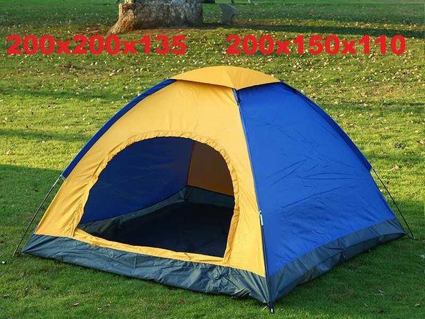 Палатка 2-х 3-х местная для туризма универсальная. Двухслойная Намет
