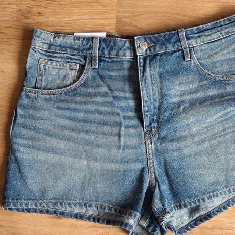 Spodenki jeansowe damskie h&m 44
