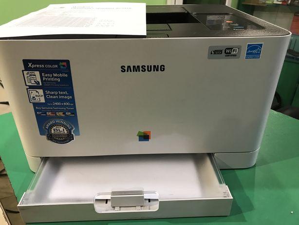 Як новий Кольоровий лазерний принтер Samsung C430W з WiFi, мережевий