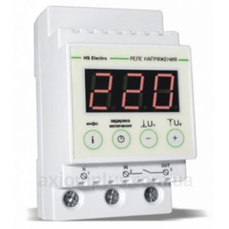 Реле контроля напряжения HS Electro УКН-25с - 63с (с термозащитой)