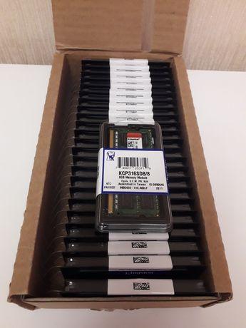 Новая оперативная память Kingston DDR3 8gb