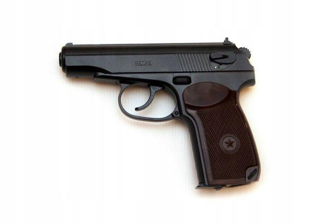 Wiatrówka pistolet Borner PM-49 - na CO2 - Makarov