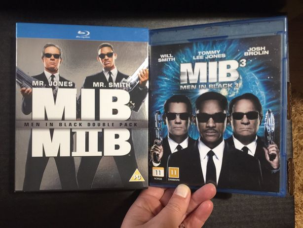 DVD blueray box set - Men in Black - 3 filmes