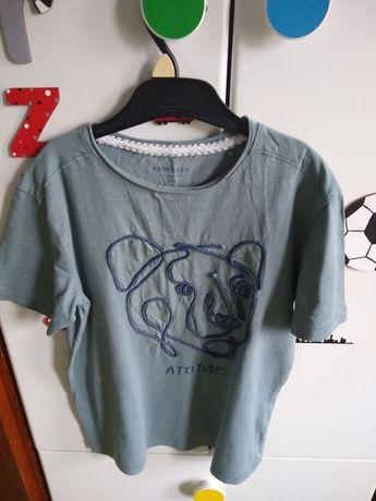 koszulka chłopięca  ze sznurkową aplikacją Reserved