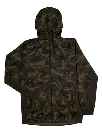 Толстовка Fox Chunk Camo / Dark Khaki track hoodie