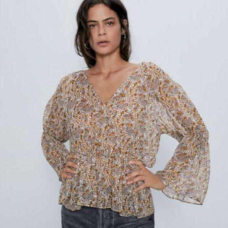 Блузка шифоновая от Zara