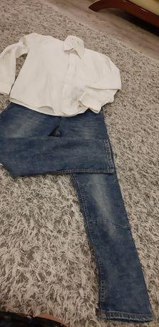 Spodnie dżinsowe chłopiec 152 cm