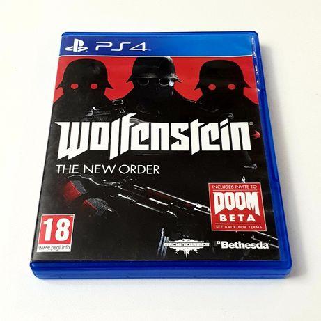 Gra Wolfenstein The New Order PL PS4 Playstation 4