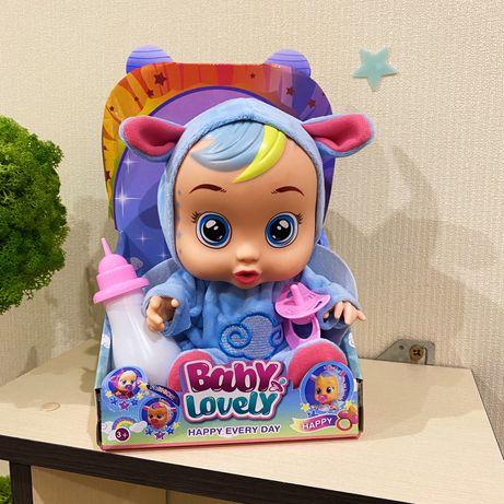 Пупс кукла Baby babies cry Плачет, говорит мама, папа