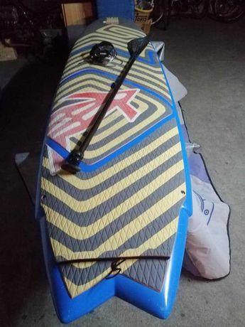 9.2 Fish Malibu Evolution Funboard prancha de surf epoxy FCS nsp torq