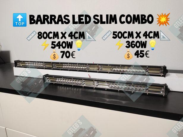 Barras Led Slim Combo