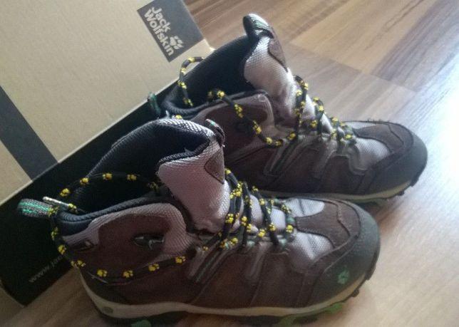 Buty młodzieżowe Jack Wolfskin r. 35 Boys MTN Attack Mid Texapore