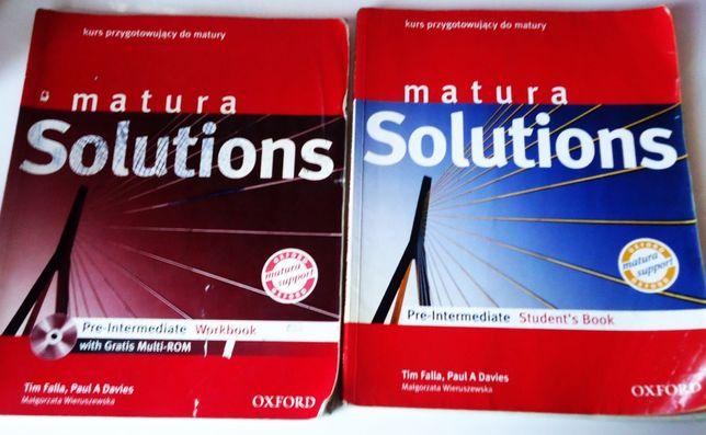 Matura Solutions Pre Intermediate Student's Book i Workbook