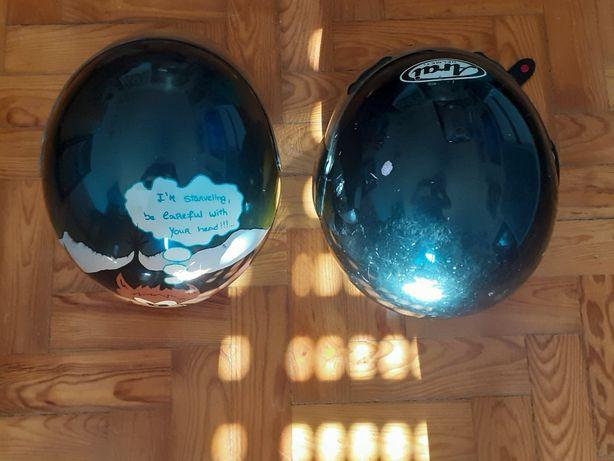 Vendo 2 capacetes um . Arai e o outro shoei