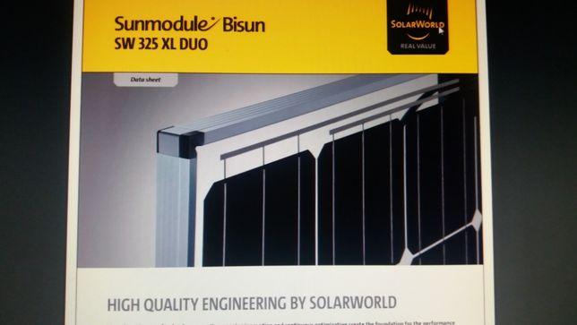 Немецкая солнечная панель(батареи) Solarworld sv-325 MONO