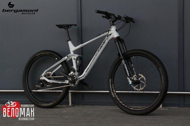 Двухподвесный велосипед Bergamont Trailster 7.0. Scott Cube Trek GT