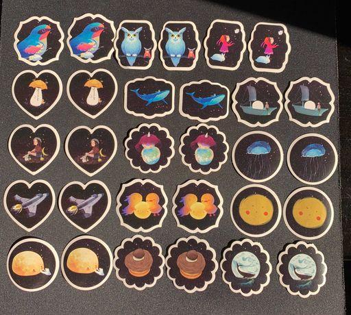Espaço Imaginário Stickers Pack (30 autocolantes)