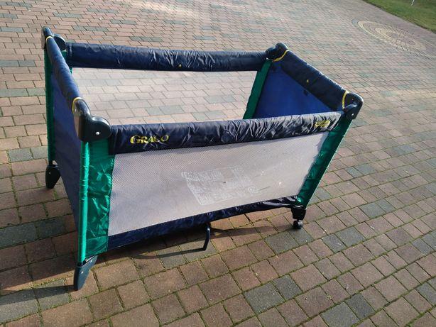 Łóżeczko łóżko turystyczne dla dziecka kojec z materacem