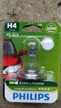 H4 Philips автомобільні лампи.
