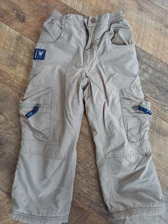 Spodnie chłopięce ocieplane