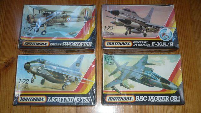 Matchbox - Kits de Aviação Antigos
