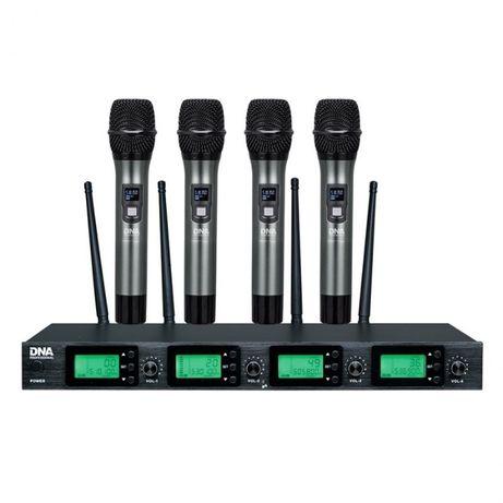 4 mikrofony doręczne - zestaw bezprzewodowy DNA RV-49