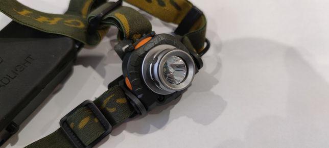 Светодиодный налобный фонарь с датчиком движения.