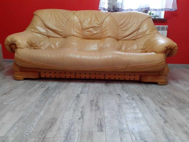 Meble wypoczynkowe sofa,2fotele pufa
