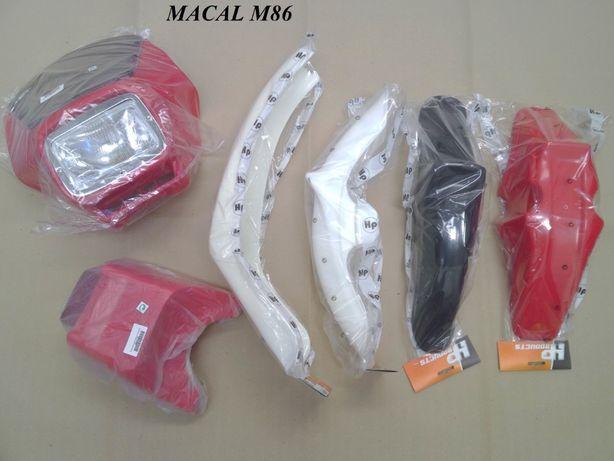 Kit plásticos macal m86 - não sachs famel casal fundador floretti