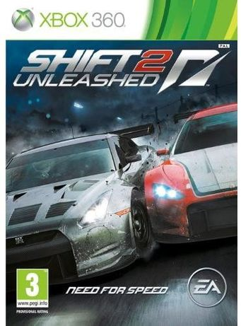 need for speed shift 2 xbox360 PL NOWA