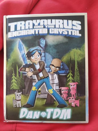 Комикс, книга  DanTDM: Trayaurus and the Encha