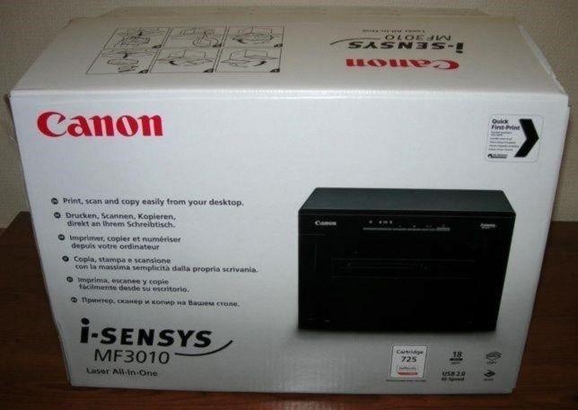 Новый МФУ 3 в 1 А4 Canon i-sensys MF3010! Звони!
