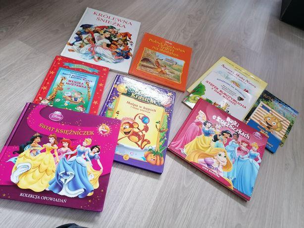 Zestaw książek książeczek dla najmłodszych