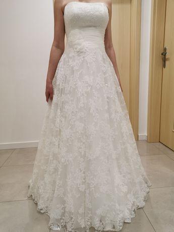 Suknia ślubna Agnes The One, kolor śmietankowy