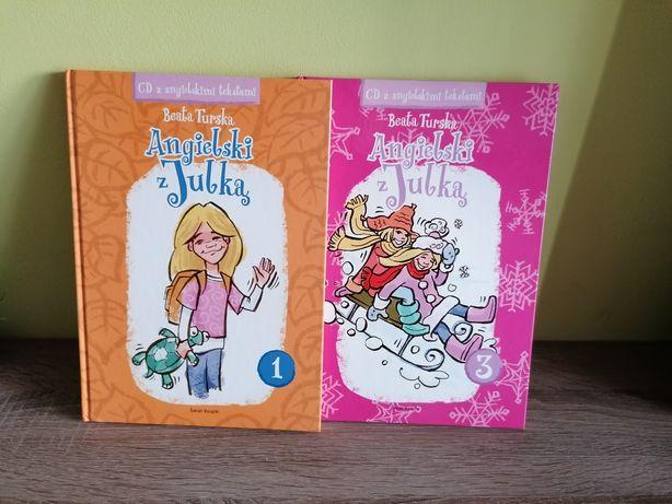 Angielski z Julką tomy 1 i 3