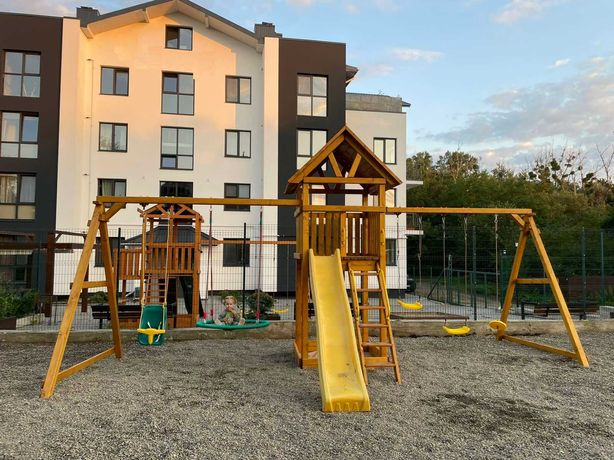 Дитячий майданчик (Детская площадка)  Акція -15% WOODEN TOWN № 2