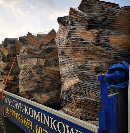 Drewno sezonowane/suche, opałowe/kominkowe sezonowane i suche